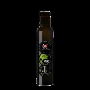OLIO EXTRA VERGINE DI OLIVA - BIOLOGICO - MONOCULTIVAR FRANTOIO - Bottiglia 250ml