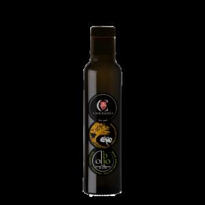 OLIO EXTRA VERGINE DI OLIVA - BIOLOGICO - MONOCULTIVAR MAURINO - Bottiglia 250ml